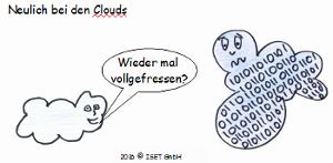 iot comic clouds